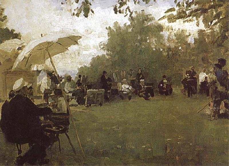 Ilya Repin At the Academy-s House in the Country oil painting picture