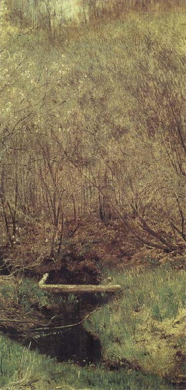 Isaac Levitan Spring in the Wood oil painting picture