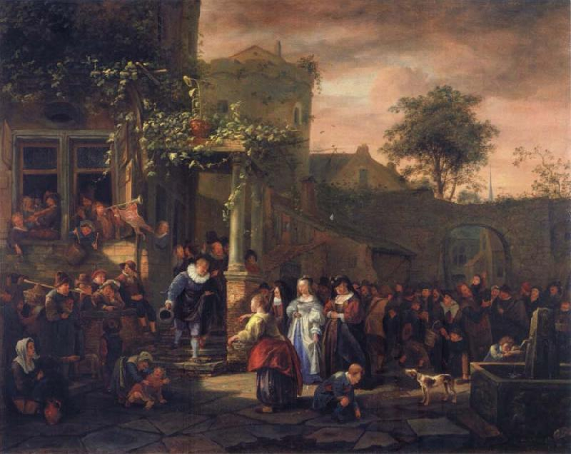 Jan Steen The Village Wedding oil painting picture
