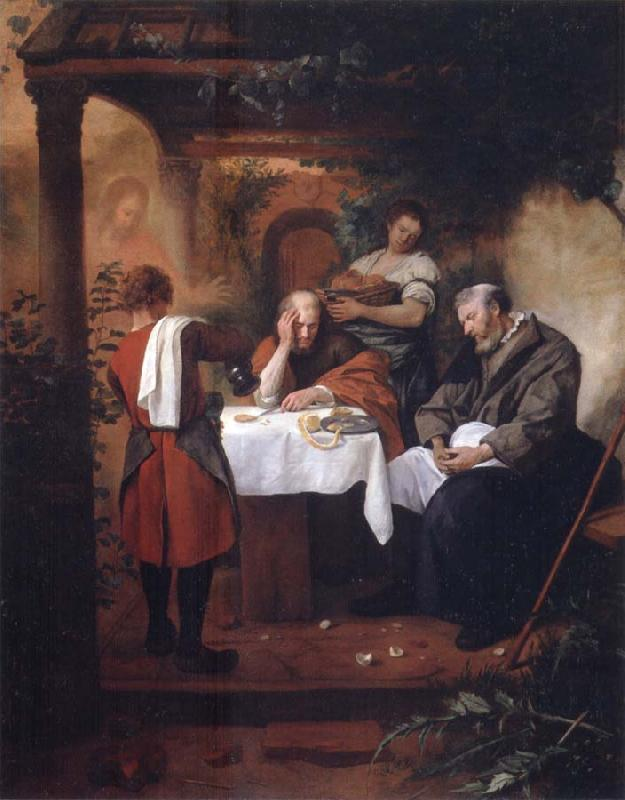 Jan Steen Supper at Emmaus oil painting picture