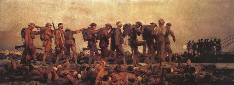 John Singer Sargent Gassed oil painting picture