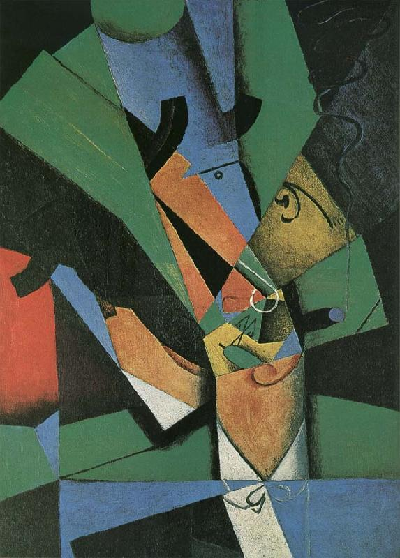 Juan Gris Nicotian oil painting image