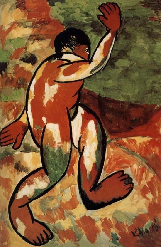 Kasimir Malevich - le Baigneur