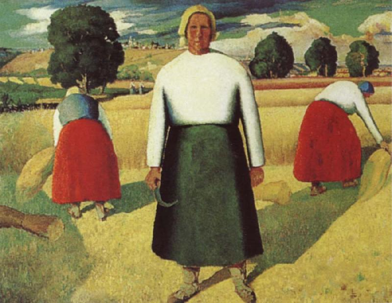 Kasimir Malevich Reapers oil painting picture