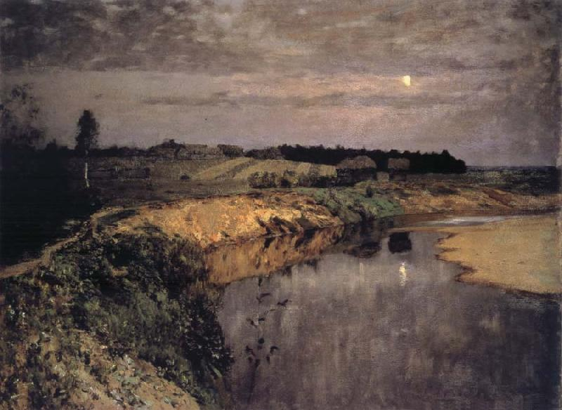 Levitan, Isaak Quietness oil painting picture