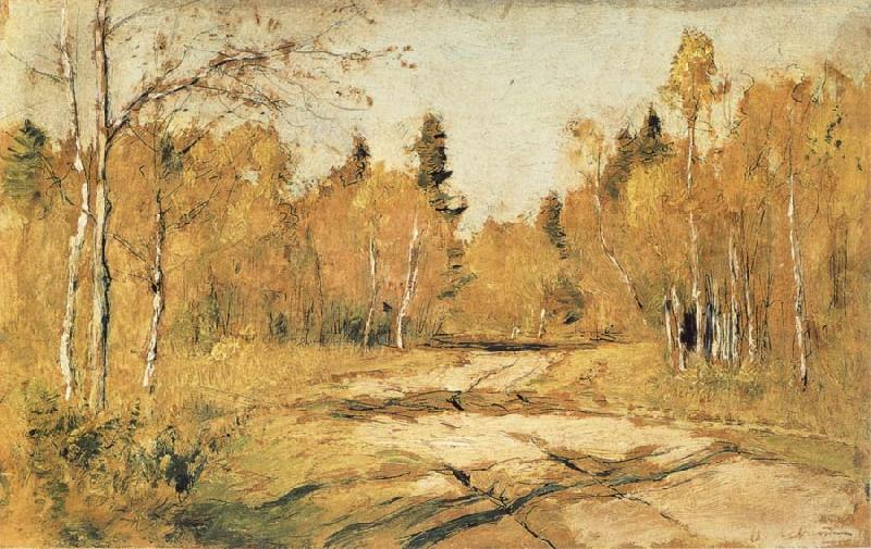 Levitan, Isaak The Sunshine of Autumn oil painting picture