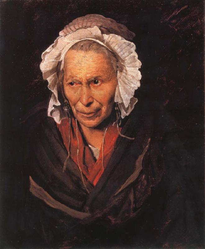 Theodore Gericault Madwoman afflicted with envy oil painting picture
