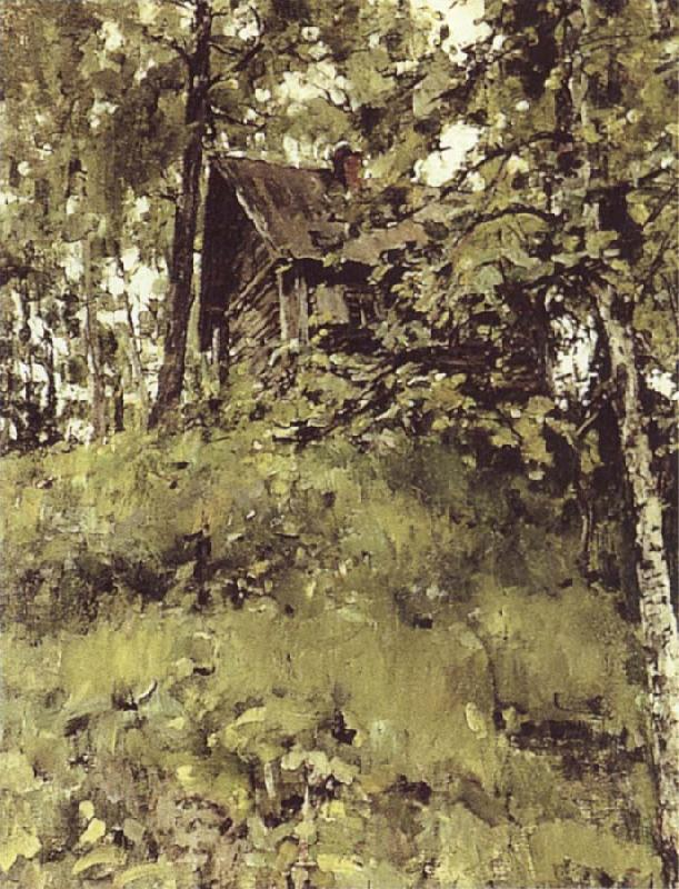 Valentin Serov Old Bath at Domothanovo oil painting image