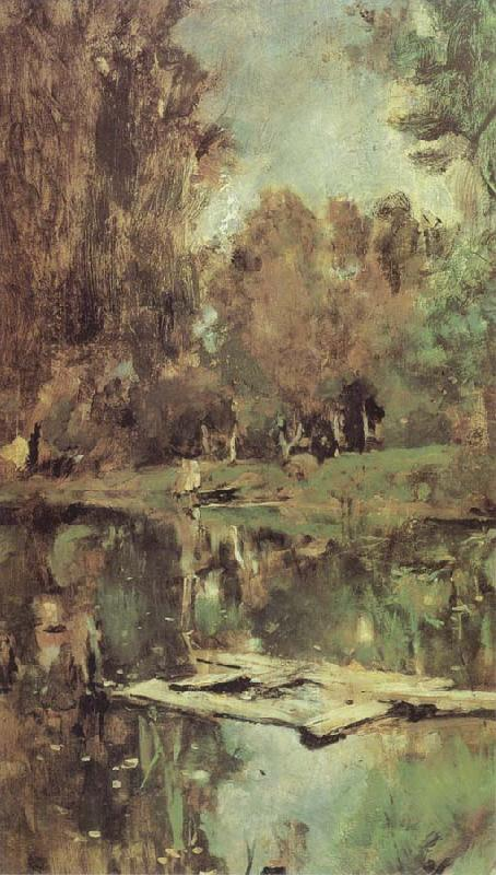 Valentin Serov Little Pond Abramtsevo oil painting picture