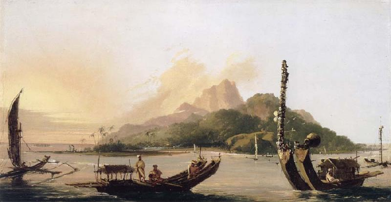unknow artist Tahiti,bearing South East oil painting picture