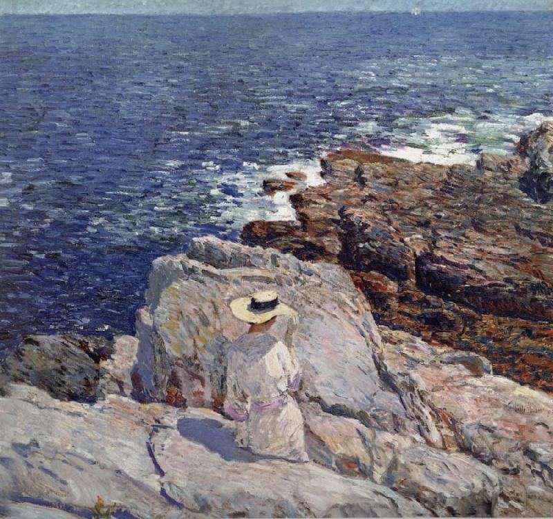 Childe Hassam The South Ledges,Appledore oil painting image