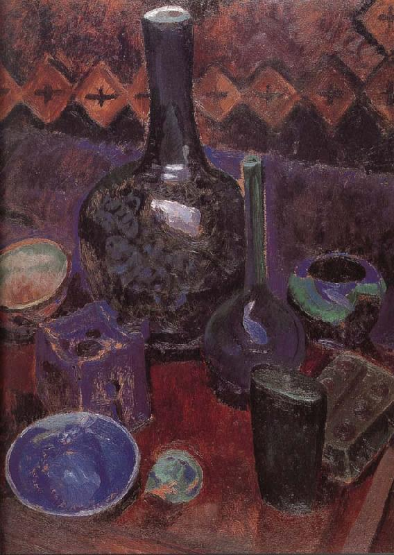Delaunay, Robert Still life bottle and object oil painting image