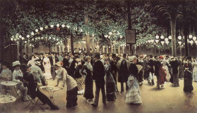 Jean Beraud The Public Dance oil painting picture