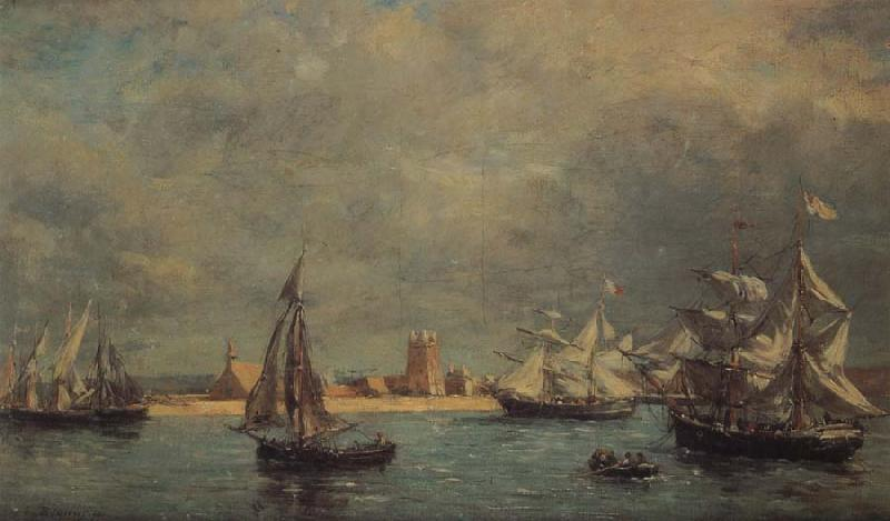 unknow artist Some Sailboat on the sea oil painting image