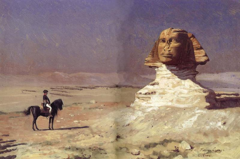Jean-Leon Gerome Oedipus,or General Bonaparte in Egypt oil painting image