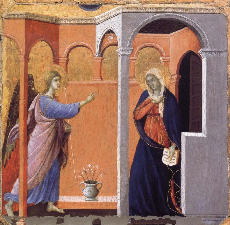 Duccio The Annunciation oil painting image