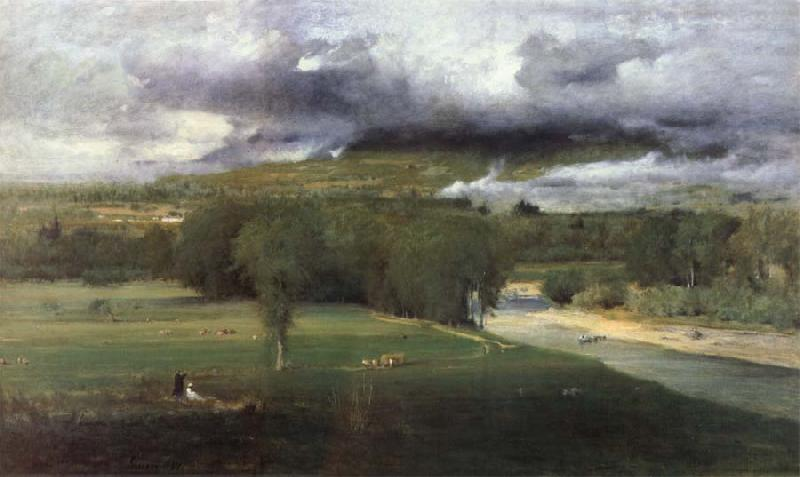George Inness Conway Meadows oil painting image