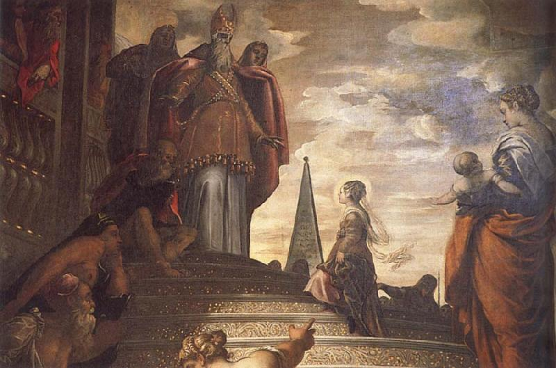 Jacopo Tintoretto Presentation of the Virgin at the Temple oil painting picture