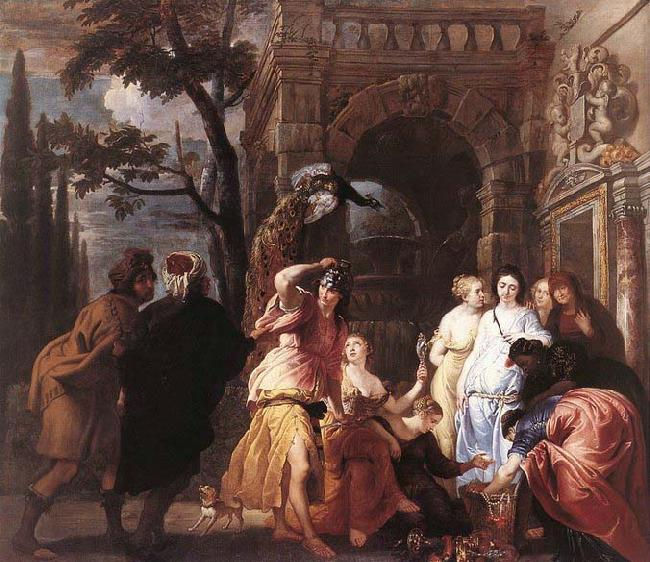 Erasmus Quellinus Achilles among the Daughters of Lycomedes oil painting image