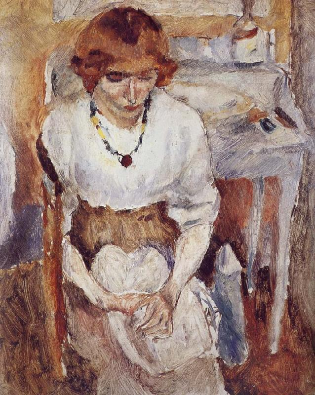 Jules Pascin Portrait of Aiermina oil painting picture