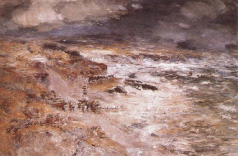 William Mctaggart The Storm oil painting image