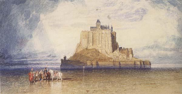 John sell cotman Mont St.Michel,Normandy (mk47) oil painting image