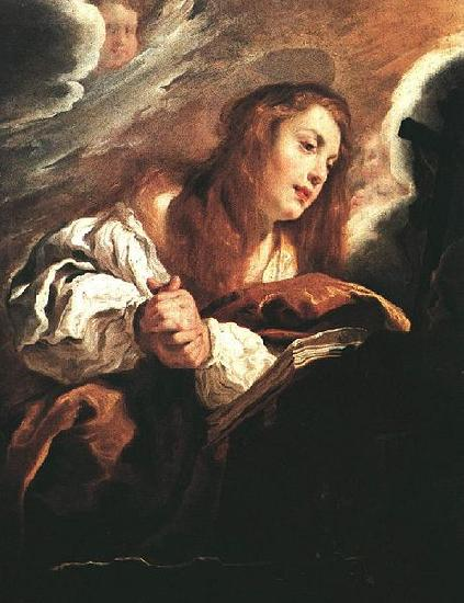 Domenico Fetti Saint Mary Magdalene Penitent oil painting image