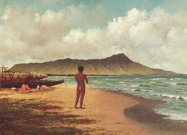 Elizabeth Armstrong Hawaiians at Rest oil painting image