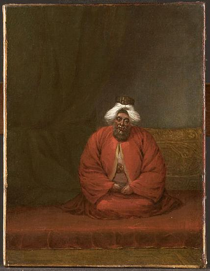 Jean-Baptiste Van Mour The Mufti of Constantinople oil painting image