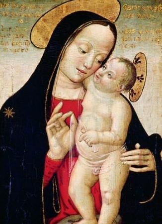 ANTONIAZZO ROMANO Madonna and Child oil painting image