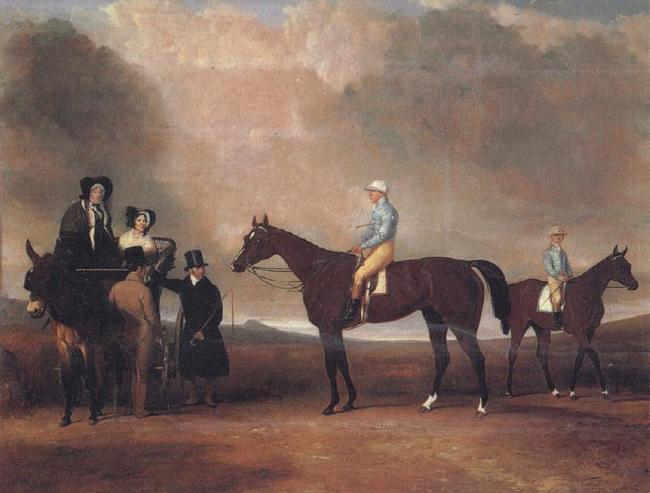 Abraham Cooper The Day Family oil painting image