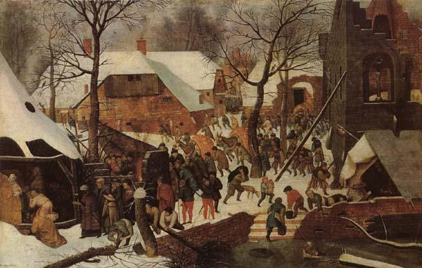 BRUEGHEL, Pieter the Younger Adoration of the Magi oil painting image