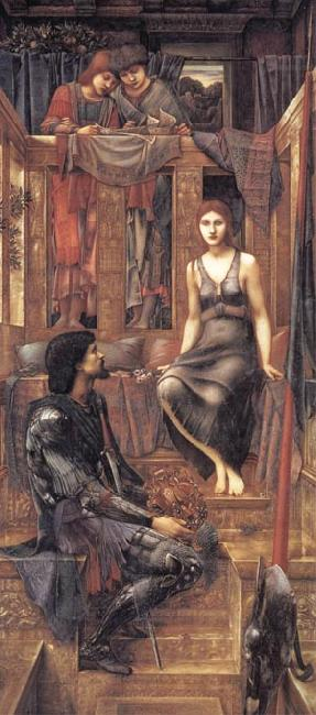 Burne-Jones, Sir Edward Coley King Cophetua and the Beggar Maid oil painting picture