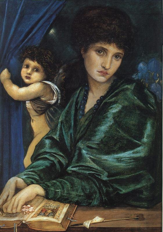 Burne-Jones, Sir Edward Coley Portrait of Maria Zambaco oil painting picture