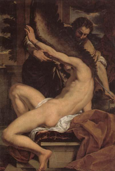 Charles Lebrun Daedalus and Icarus oil painting image