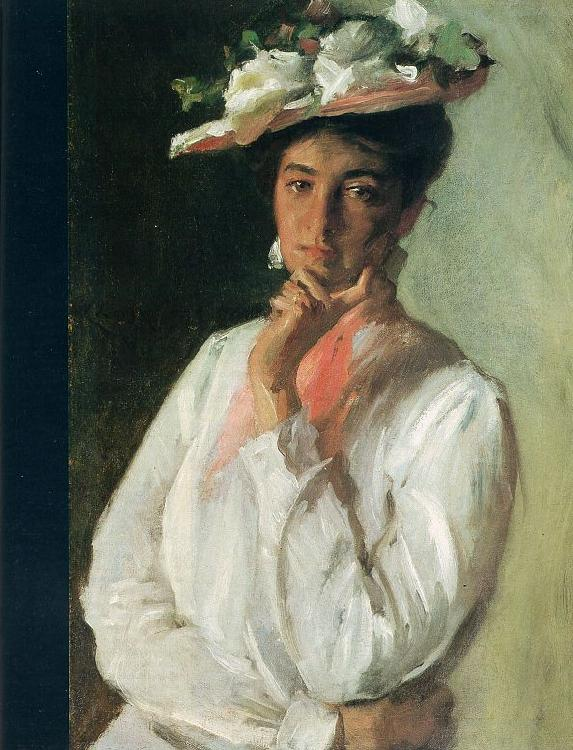 Chase, William Merritt Woman in White oil painting image