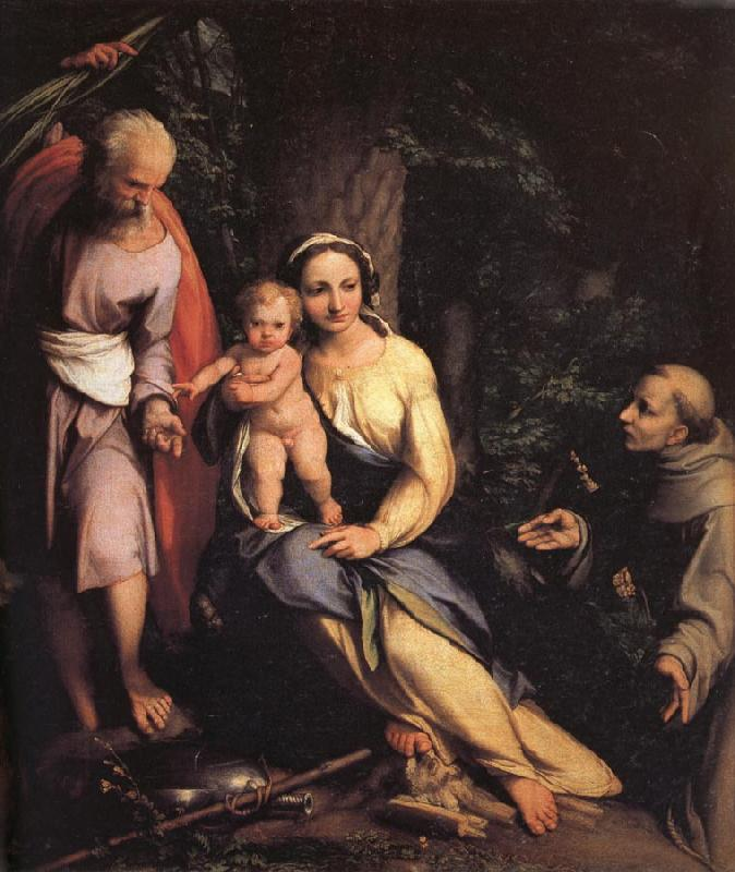 Correggio The Rest on the Flight into Egypt oil painting image