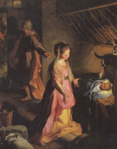 Federico Barocci The Nativity oil painting image