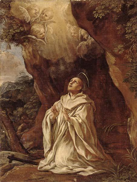 unknow artist The Vision of Saint bruno oil painting image