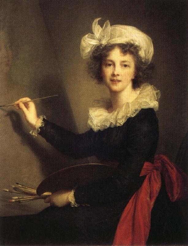 Elisabeth-Louise Vigee-Lebrun Self-Portrait oil painting image