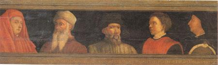 Florentine School Five Masters of the Florentine Renaissance (mk05) oil painting image