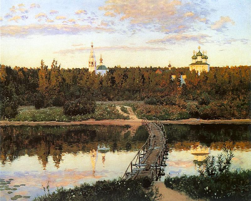 Levitan, Isaak The Quiet Abode oil painting image