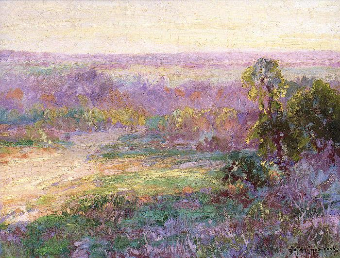 Onderdonk, Julian Last Rays of Sunlight, Early Spring in San Antonio oil painting image