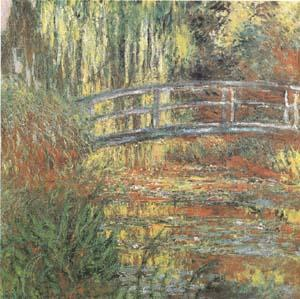 Claude Monet The Waterlily Pond (mk09) oil painting image