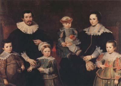 Cornelis de Vos The Family of the Artist (mk08) oil painting picture