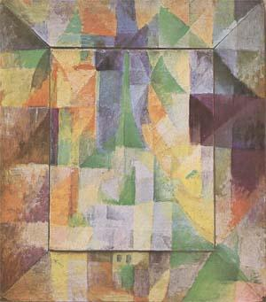 Delaunay, Robert Simultaneous Windows on the City (mk09) oil painting image