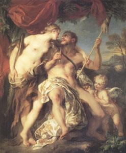 Francois Lemoyne Hercules and Omphale (mk05) oil painting image