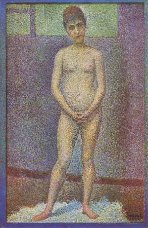 Georges Seurat Model,Front View (mk09) oil painting image