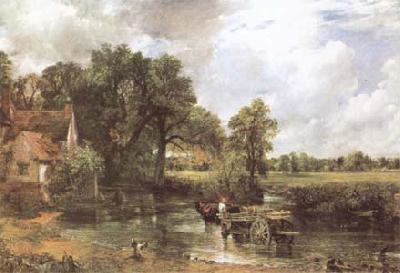 John Constable The Hay Wain (mk09) oil painting image