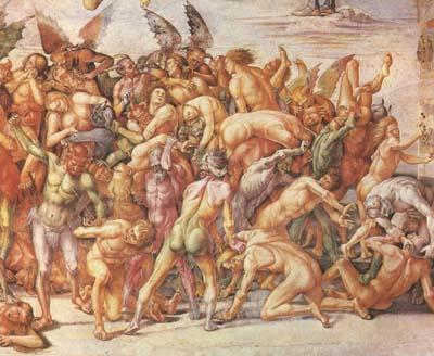 Luca Signorelli The Damned Cast in Hell (mk08) oil painting image